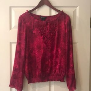 WHBM Red Blouse